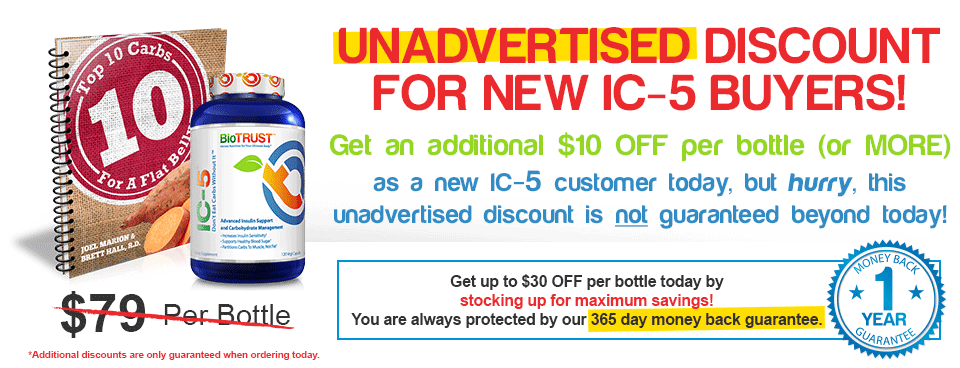 Unadvertised Discount for new IC-5 Buyers