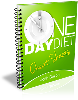 The One Day Diet Cheat Sheets